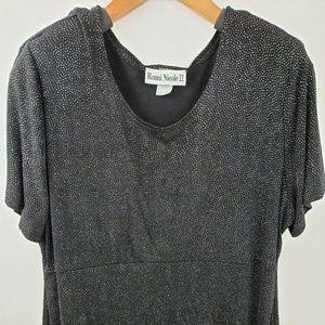 Ronni Nicole II Full Length Black Maxi Dress